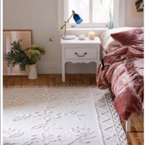 Urban Outfitters Bedding - Skye Velvet Duvet Cover Rose Gold